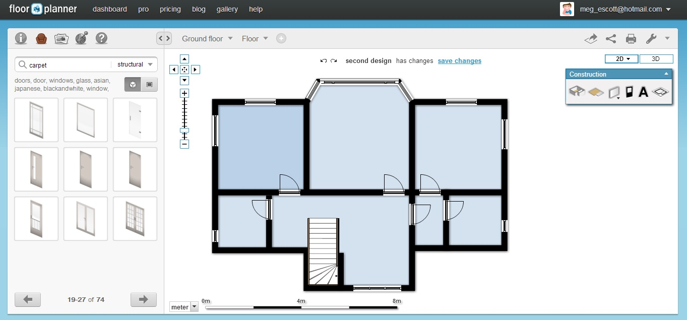 Floor plan drawing online nice houzz for Site plan drawing online