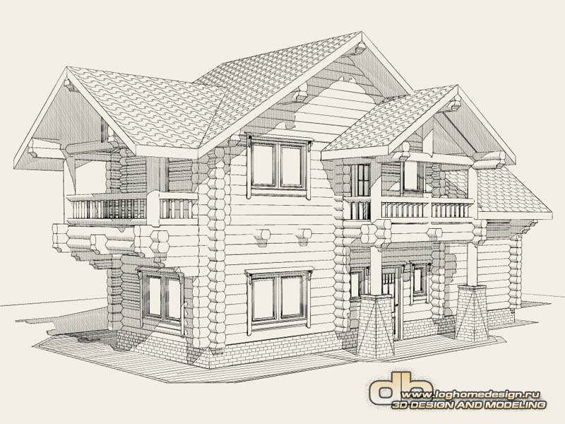 House sketch drawing at free for for Sketch house plans