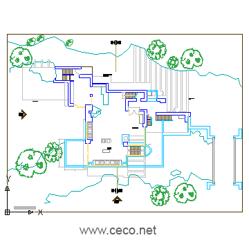 360x360 Fallingwater House