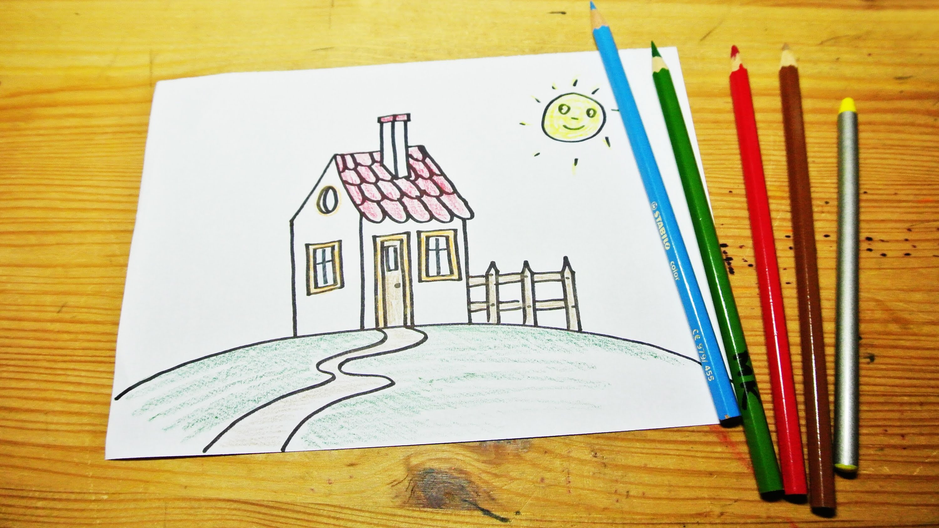 Line Drawing Of Your House : Houses for drawing at getdrawings free personal use