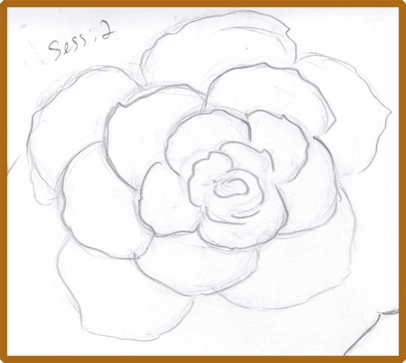 800x716 Weekly Doodles And Tuts How To Draw A Rose Method 2