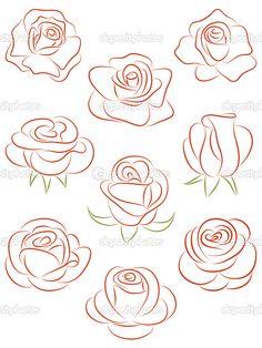 236x314 How To Draw A Classic Tattoo Style Rose Classic Tattoo, Tattoo