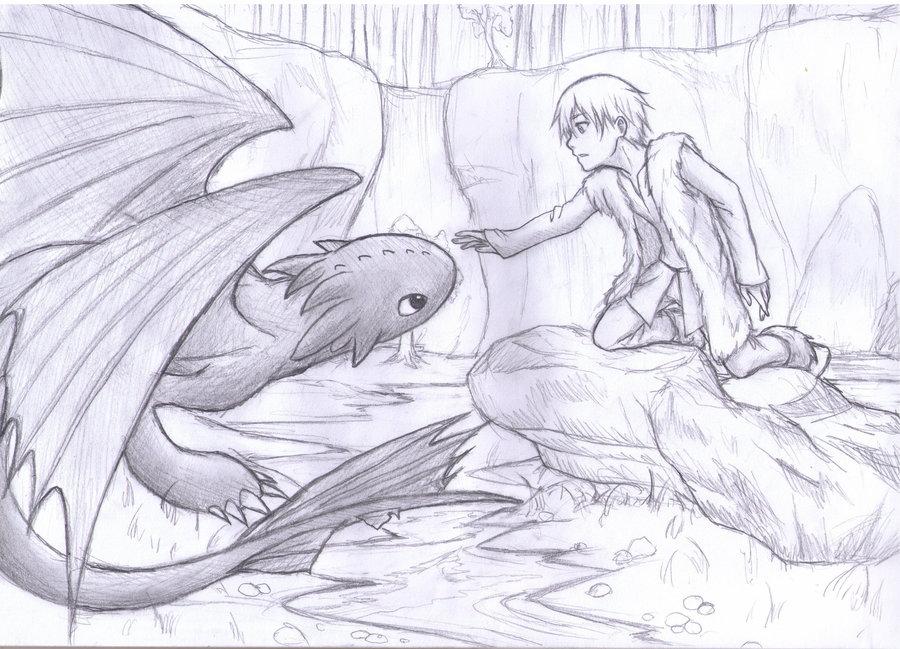 900x649 How To Train Your Dragon By Fuyukichi
