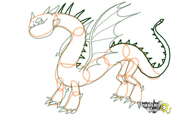 600x400 How To Draw A Grapple Grounder Dragon From How To Train Your