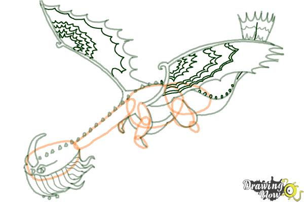 600x400 How To Draw A Scauldron Dragon From How To Train Your Dragon