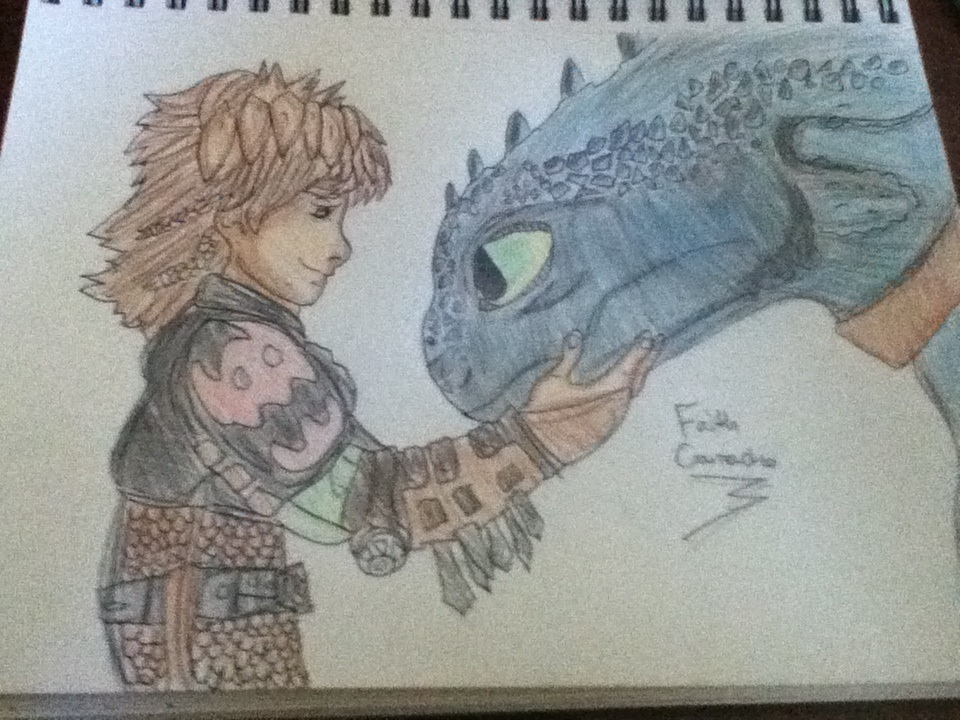 960x720 My How To Train Your Dragon 2 Drawing By Arcanineprincess97