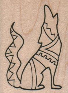 235x322 Southwestern Coyote Howling 1 34 X 2 14 Cool Art