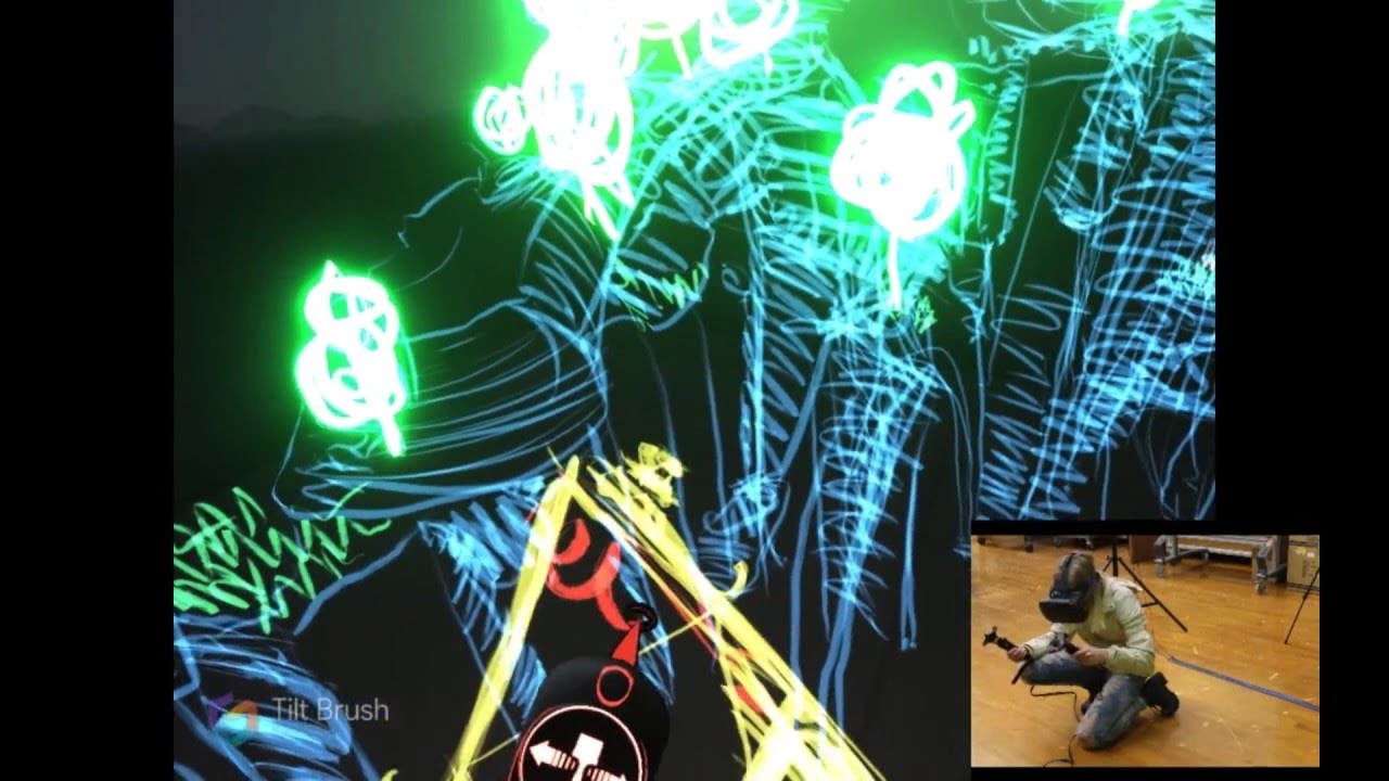 1280x720 Tilt Brush Drawing With Process
