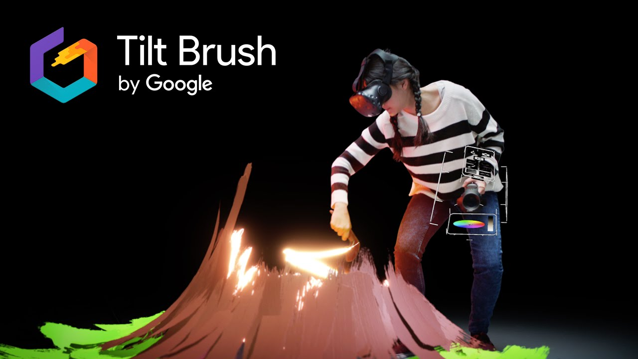 1280x720 Tilt Brush Painting From A New Perspective