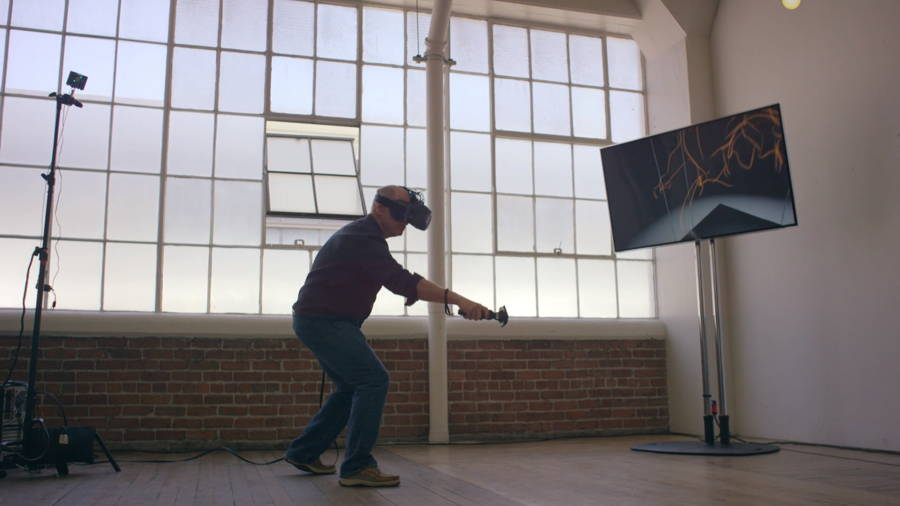 900x506 Watch A Disney Animator Draw In Virtual Reality With The Htc Vive
