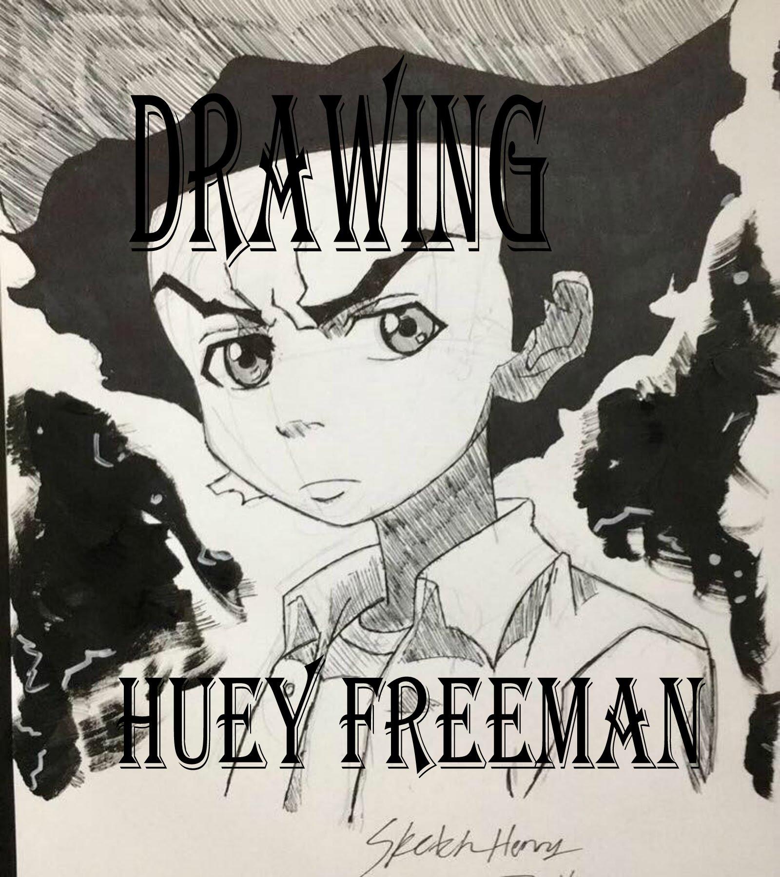 1600x1800 Drawing Huey Freeman (Boondocks)