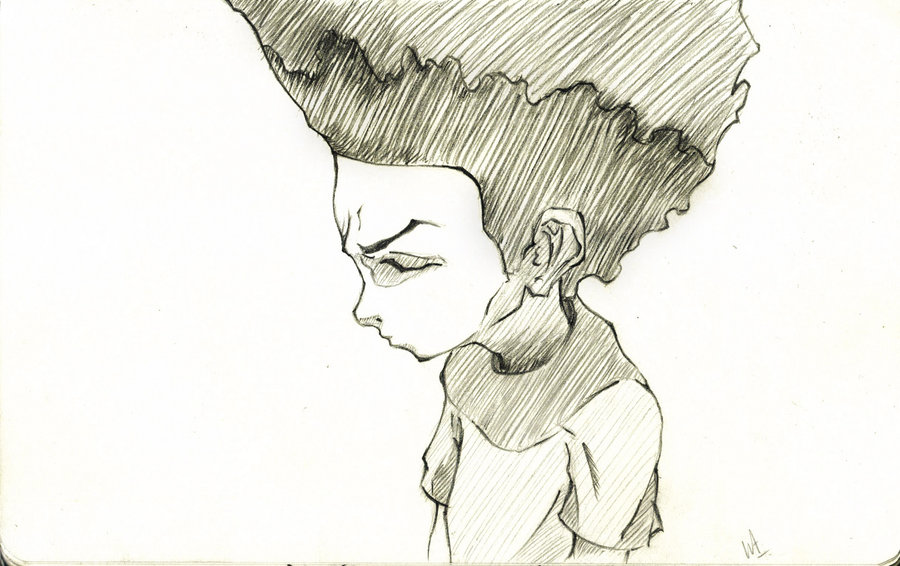 900x566 The Boondocks Huey By Willaustinsarchive