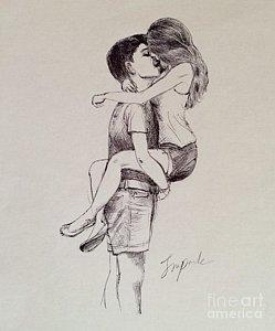 249x300 Hug Day Drawings Fine Art America