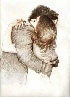 236x325 Couple, Drawing, And Hug Image Art Hug Images, Hug