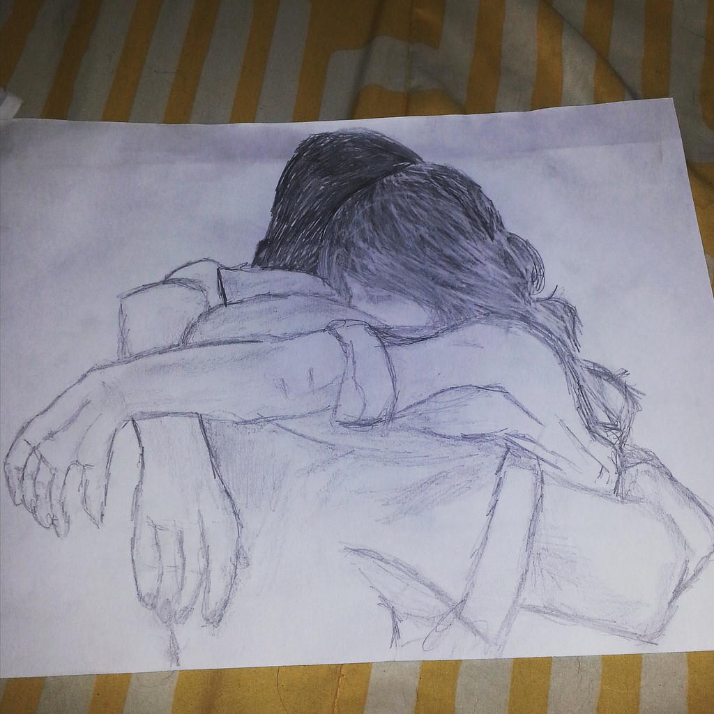 1024x1024 The World's Best Photos Of Hug And Sketch