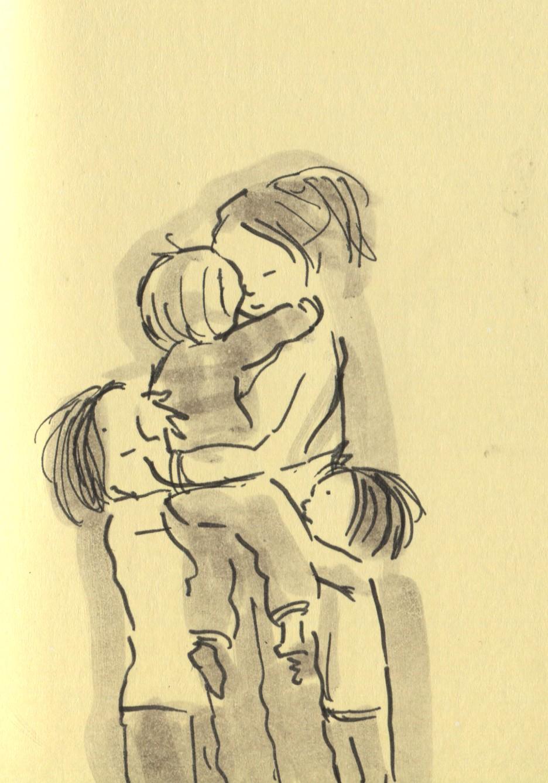 936x1337 Group Hugs. Doodlemum