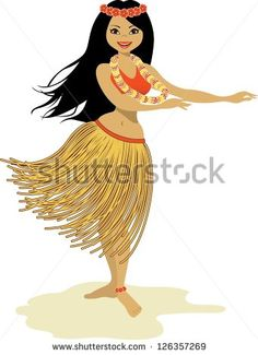 236x325 1819 Drawing Of A Hula Dancer On Maui By A French Explorer