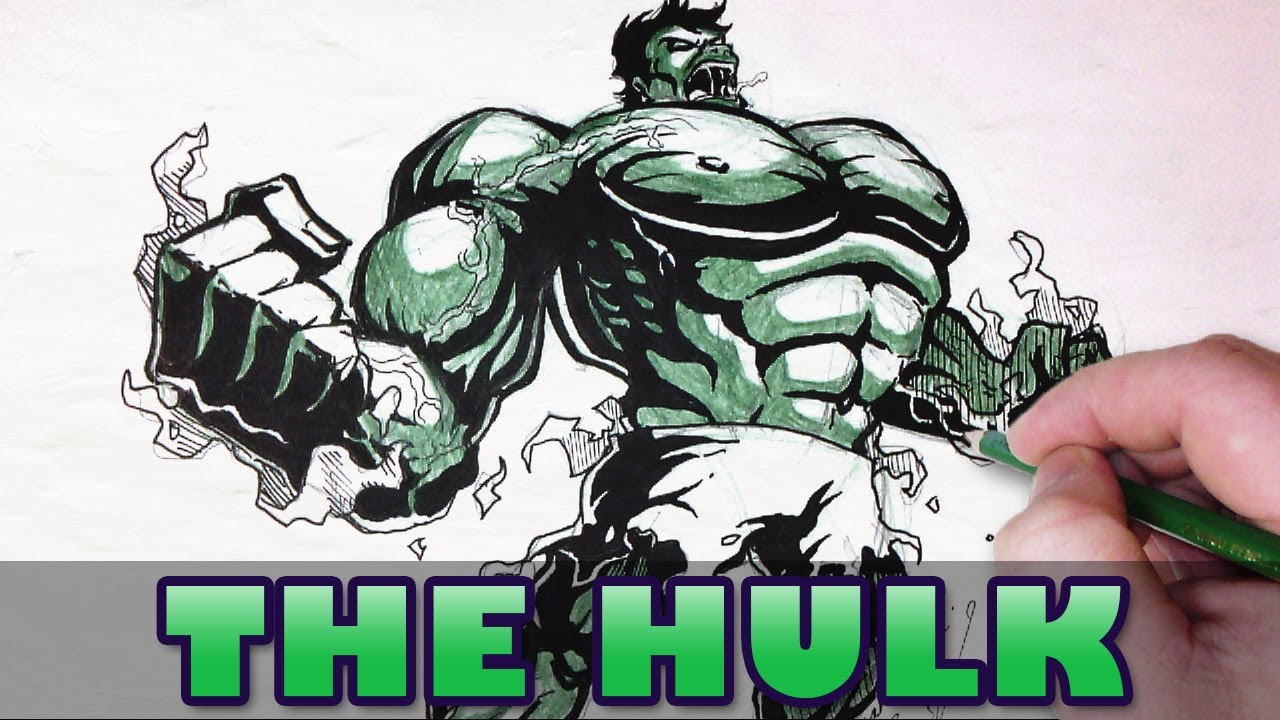 1280x720 Let's Draw The Hulk!
