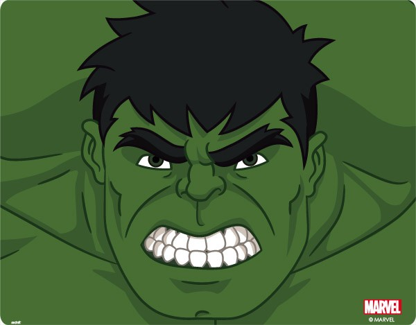 600x469 Incredible Hulk Face Drawing