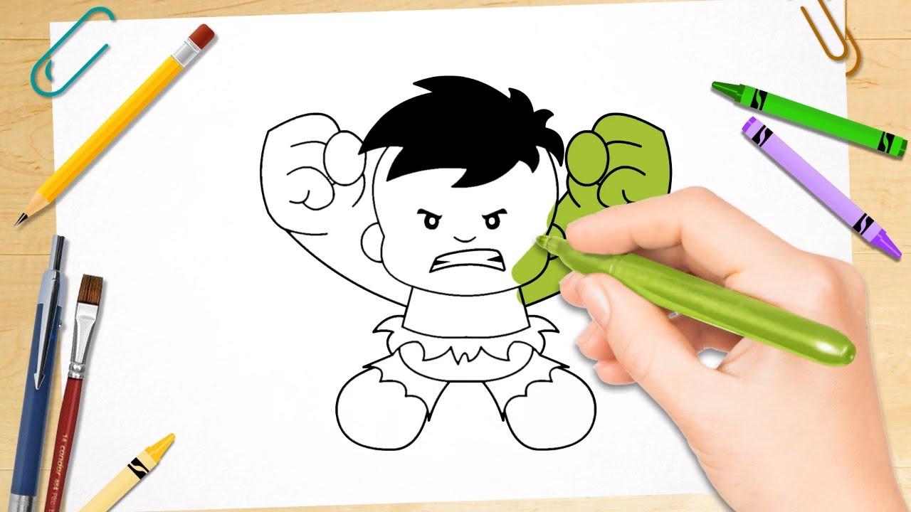 Hulk Drawing Pages at GetDrawings