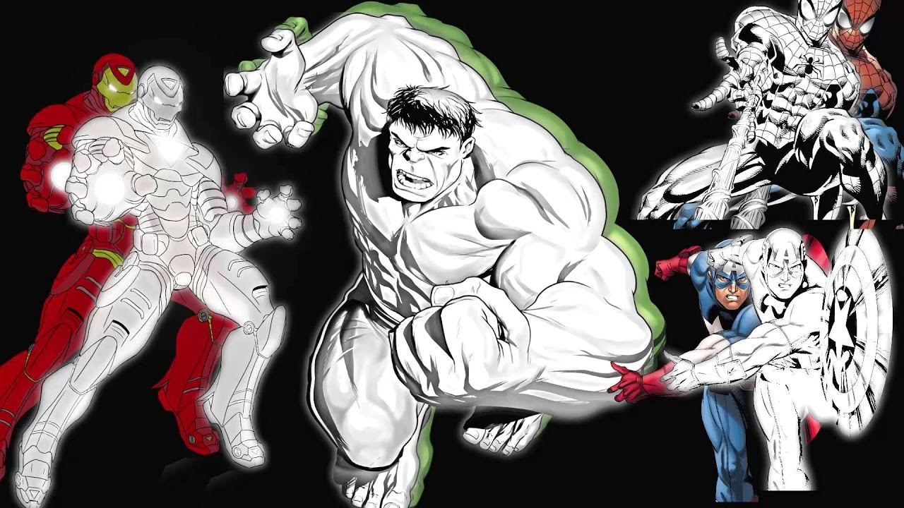Frozen Coloring Pages Easy : Hulk drawing pages at getdrawings free for personal use hulk