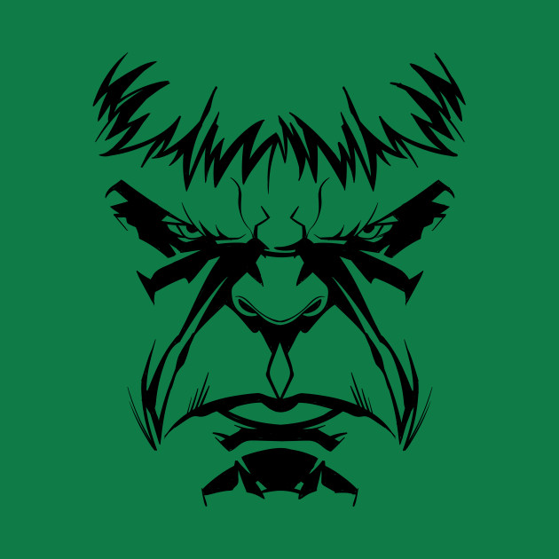 630x630 Angry Hulk Face Costume