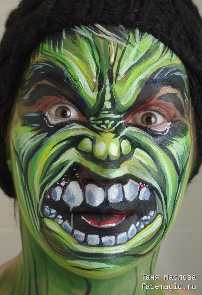 701x1024 Hulk. Face Paint By Tanya Maslova. My Face Paints Monsters