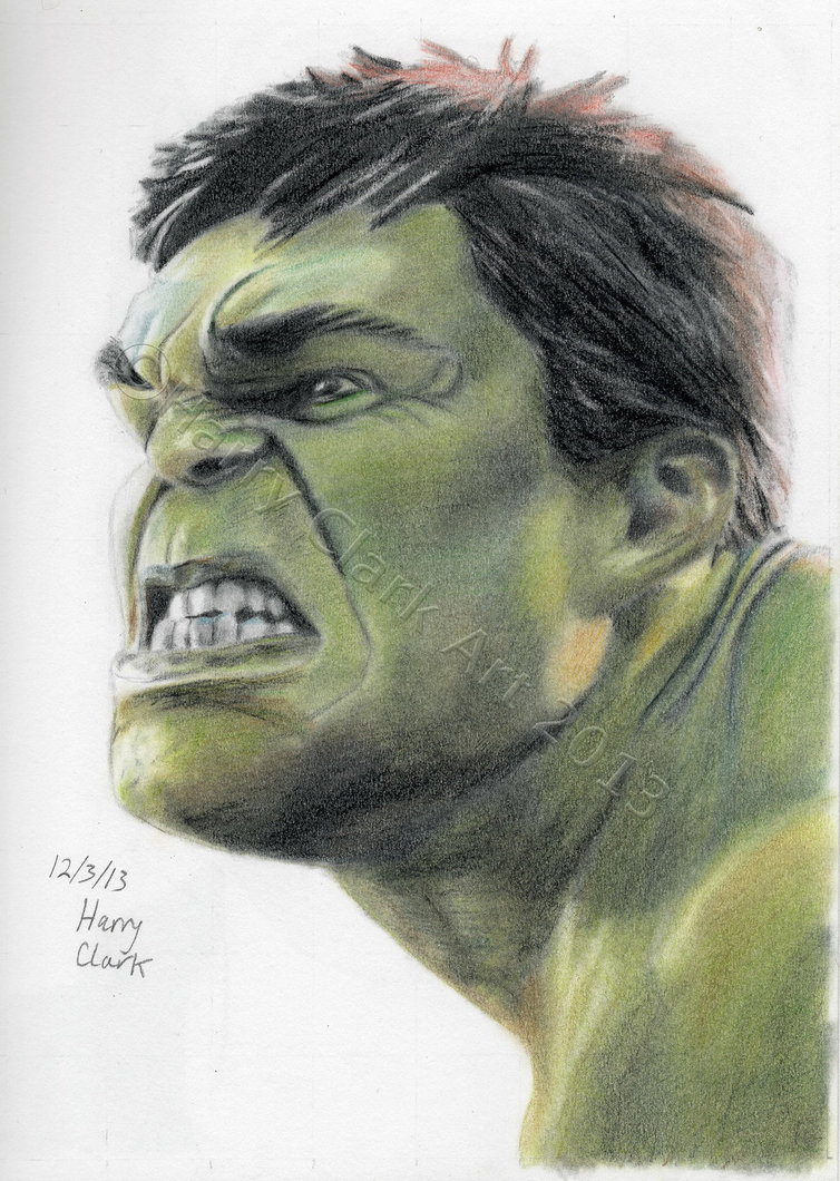 754x1060 The Incredible Hulk By Rj700