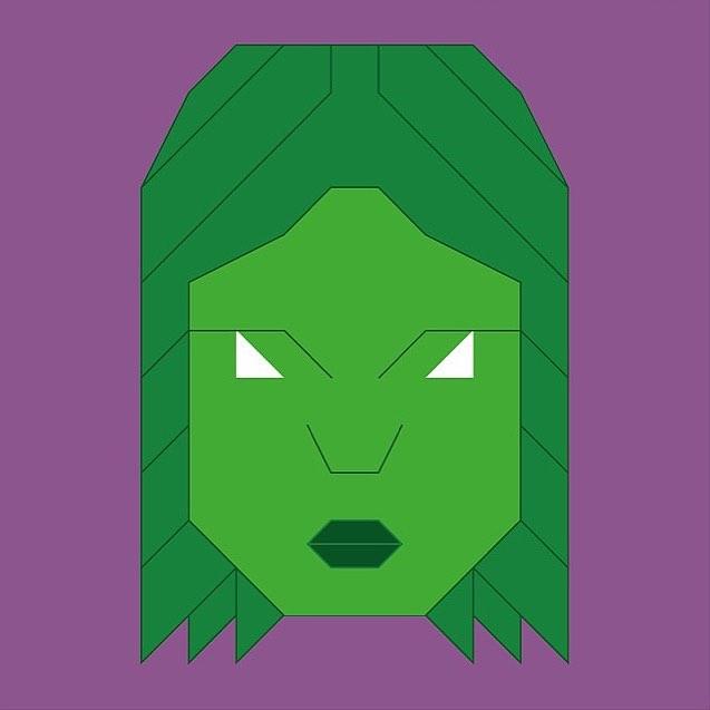 637x637 Hereosampvillains Pixelicon Series