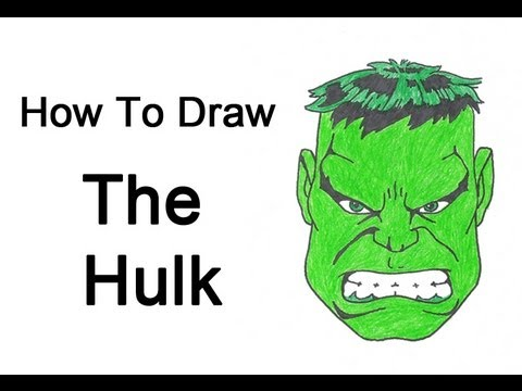 480x360 How To Draw The Hulk