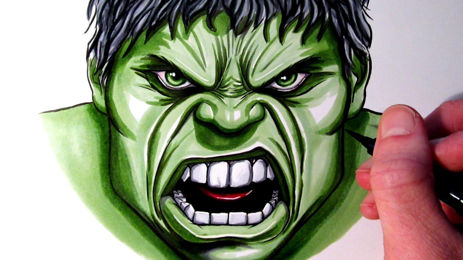 1600x900 Let's Draw The Hulk