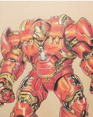320x400 Hulkbuster Drawings On Paigeeworld. Pictures Of Hulkbuster