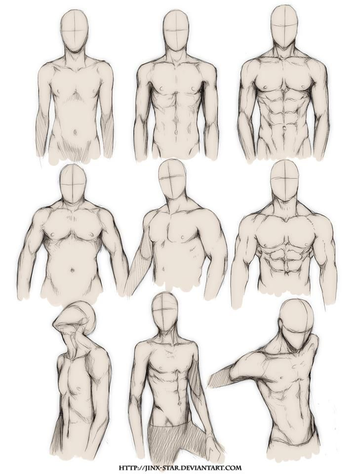 725x960 How To Draw The Human Body