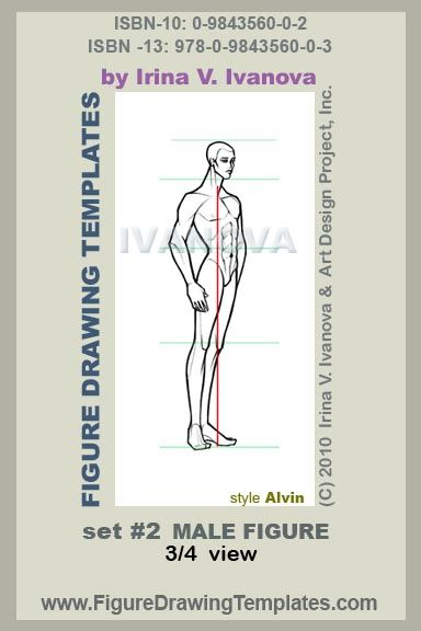 384x576 This Male Figure Drawing Template Designed For Drawing Male Body