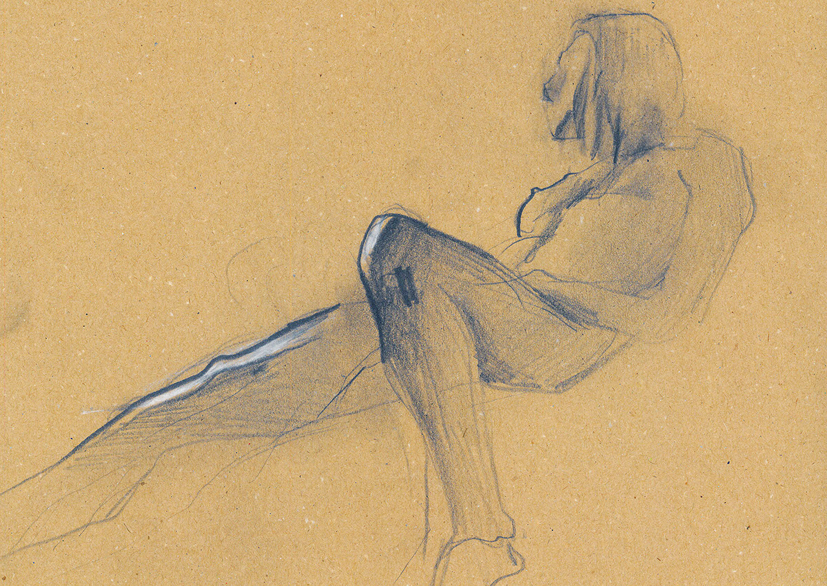 1200x850 Human Body Sketches On Behance