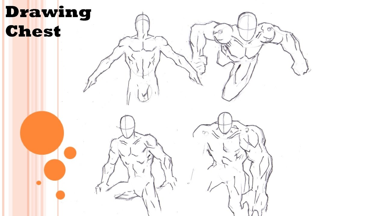 1280x720 How To Draw Chest (Comic Style)