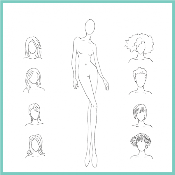 Human Drawing Templates at GetDrawings.com | Free for personal use ...
