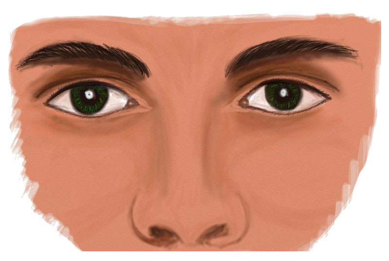 800x537 How To Draw Human Eyes