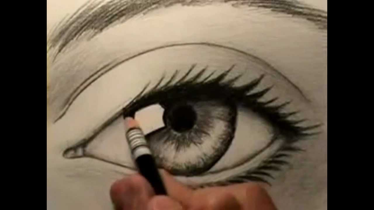 1280x720 How To Draw A Human Eye