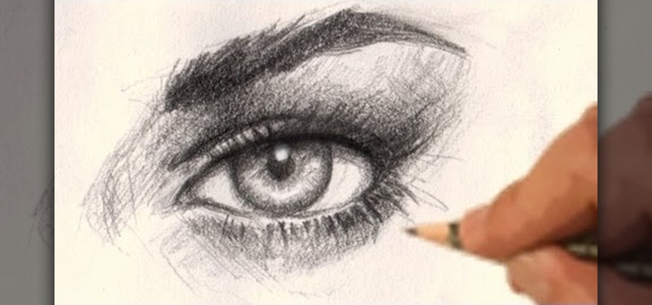 1280x600 How To Draw A Realistic Human Eye Drawing Amp Illustration
