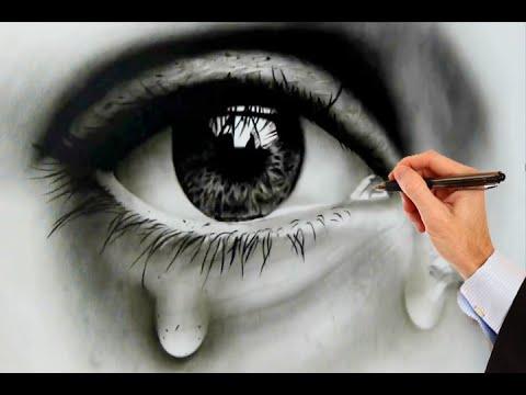480x360 How To Draw Human Eyes Realistic Eye