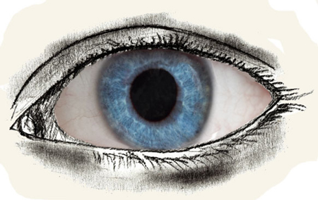 450x284 How To Draw Human Eyes
