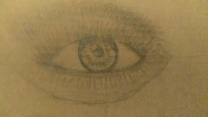 670x377 How To Draw Realistic Human Eyes 7 Steps (With Pictures)