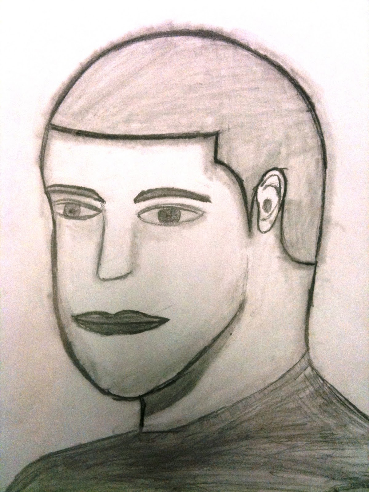 how to draw a human face with pencil pdf