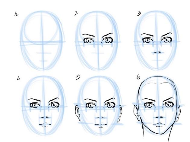 630x473 Biowars Art Academy How To Draw A Human Face