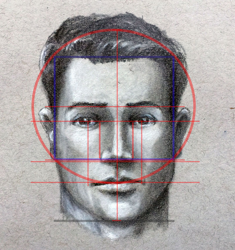 800x851 How To Draw A Face