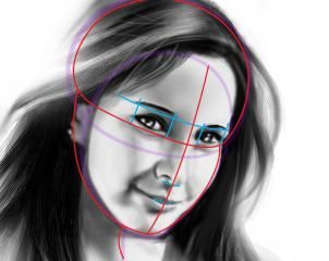 302x240 How To Draw A Human Face, Step By Step, Faces, People, Free Online