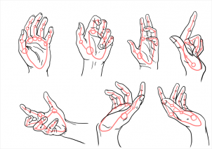302x213 How To Draw Hands, Step By Step, Hands, People, Free Online