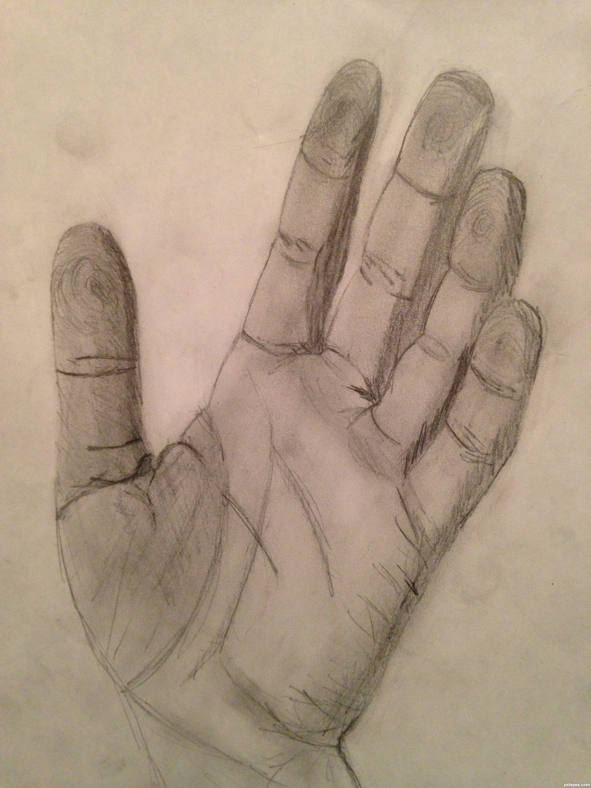 2448x3264 High Five Picture, By Agnieszka For Human Hands Drawing Contest