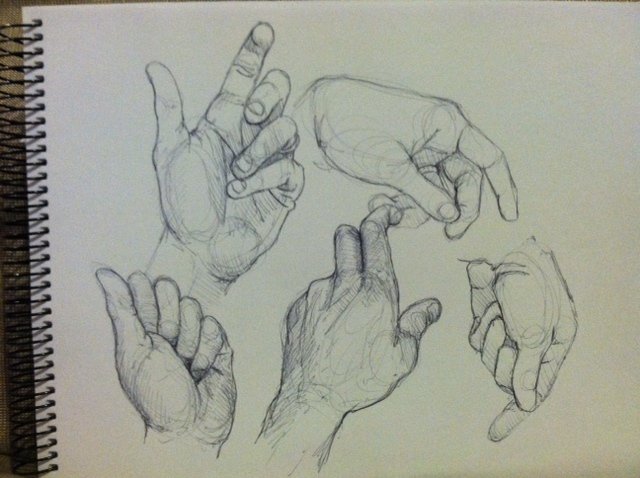 640x478 Human Hands Sketches Sketching Your Hands Anime